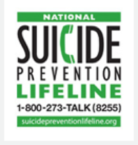 NAtional Suicide Prevention Lifelinelogo